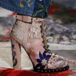 Alexander McQueen Embroidered Boots