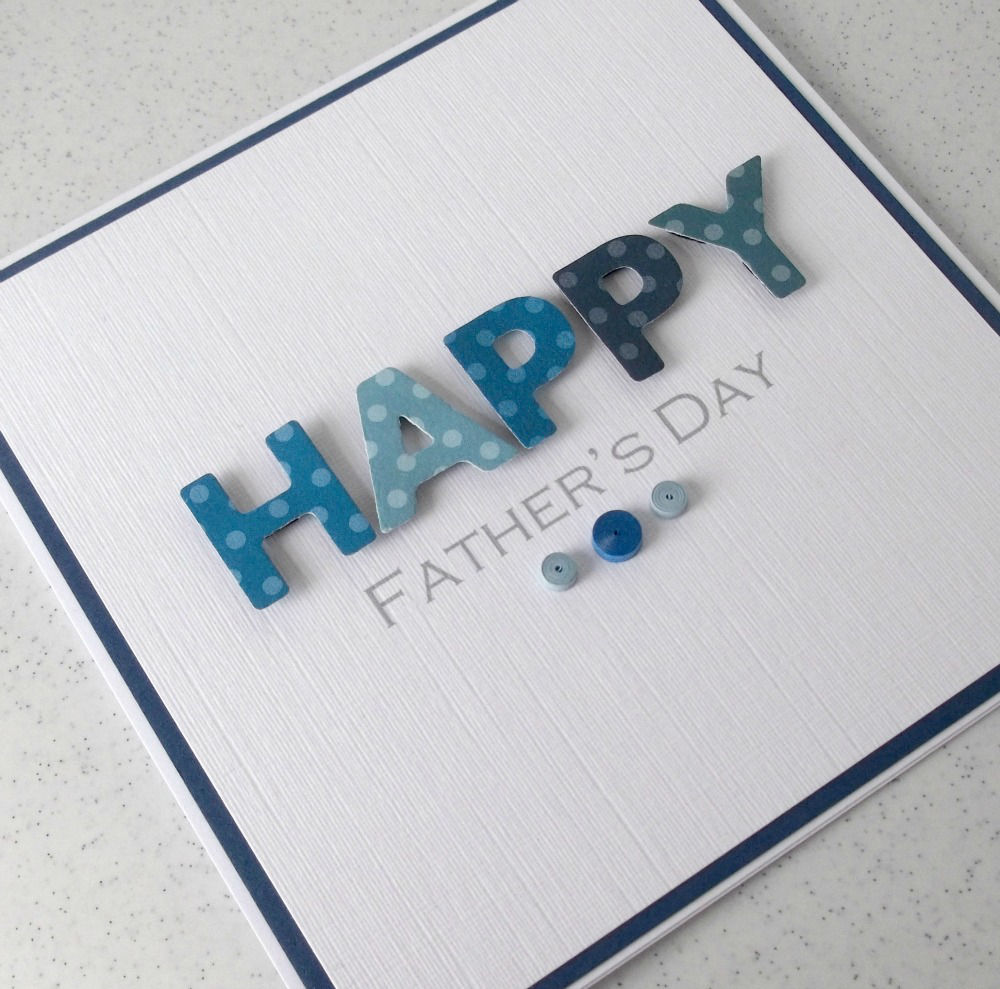 Simple and Classic Father's Day Card