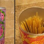 Decoupage Pasta Holder