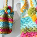 Crochet your own Beach bag