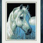 Horse needlepoint