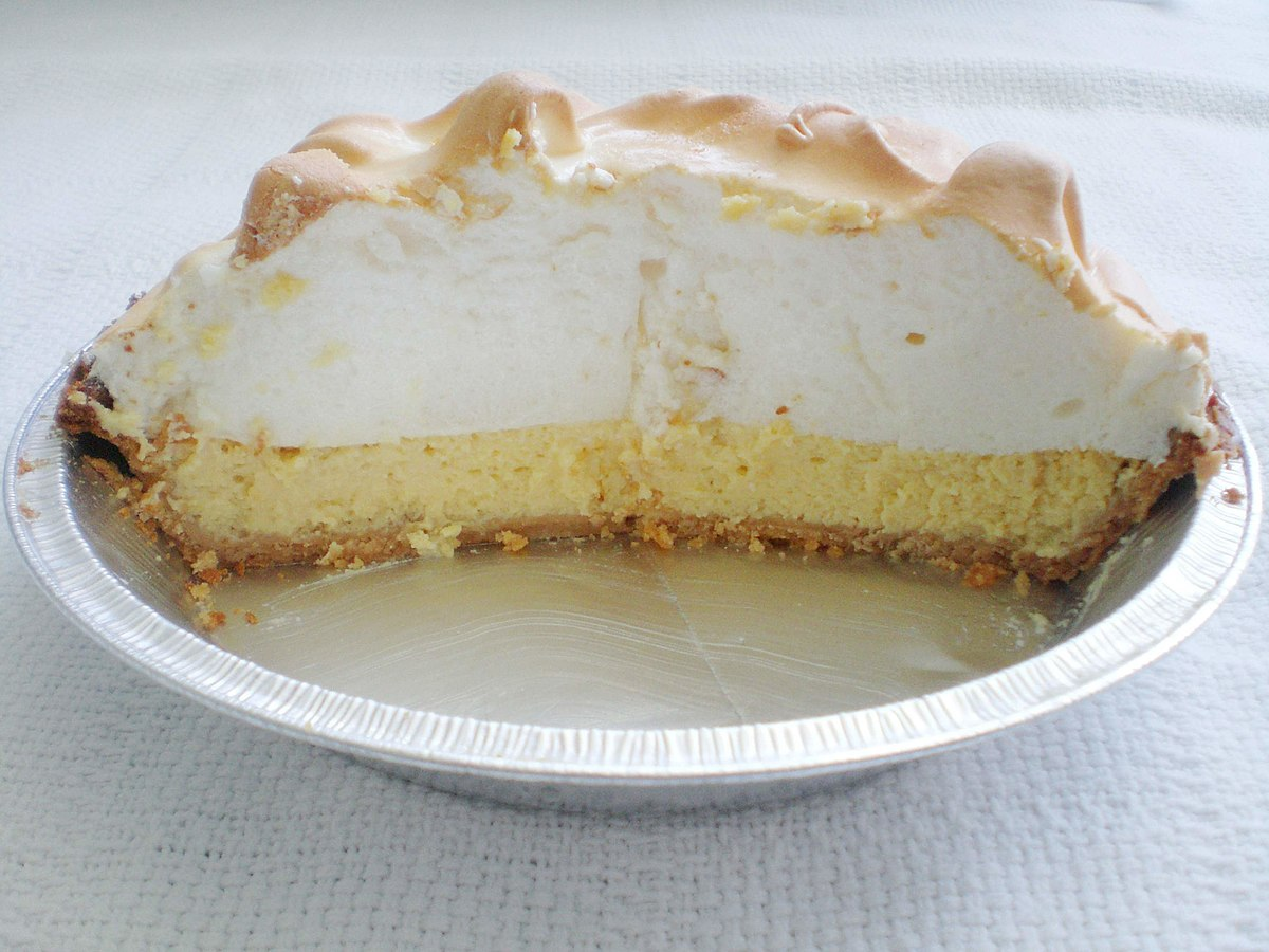 https://en.wikipedia.org/wiki/Key_lime_pie